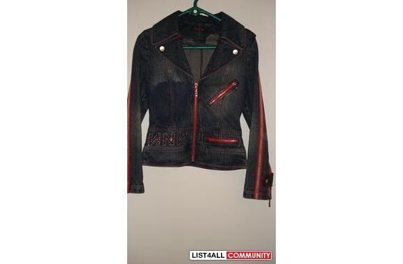 Jean jacket (blazer)–got it as a gift