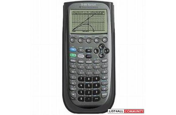 TI 89 Titanium Programmable Scientific Graphing Calc