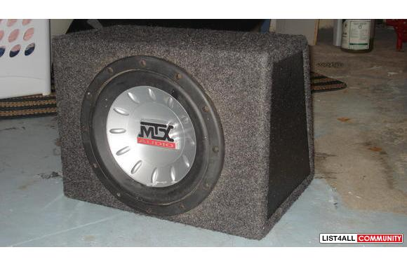 MTX Audio SubWoofer