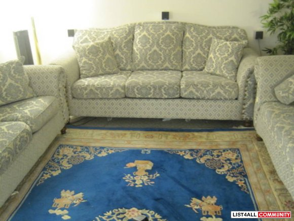 Custom Design 3 Piece Sofa Set SOLDD