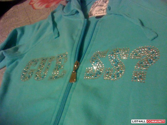 Guess Zip-up Sweater only $15! SOLDD