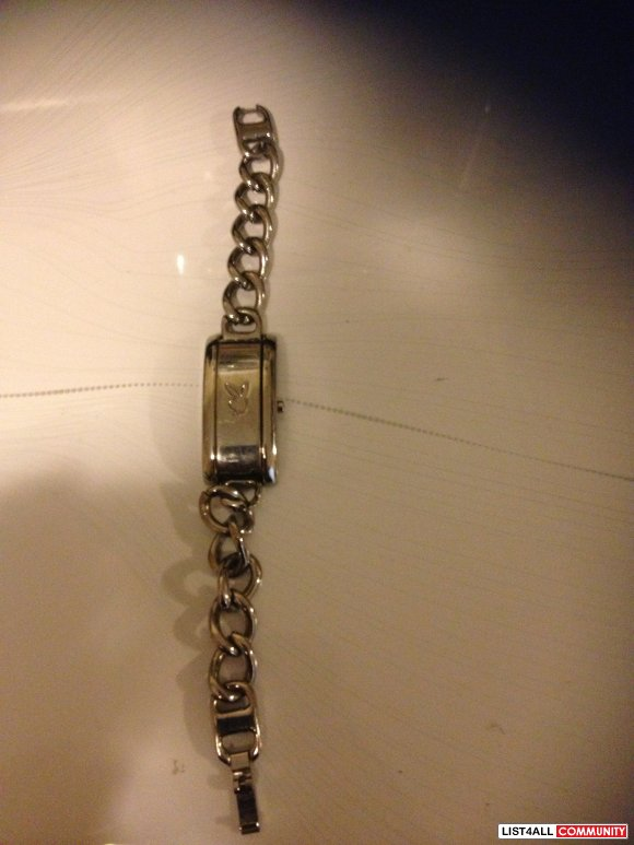 Playboy Chain Watch