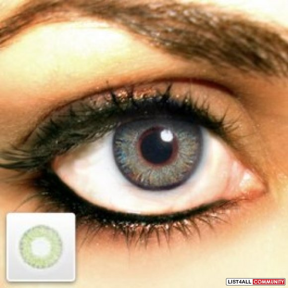 Cheap FreshLook ColorBlends Gray Contacts