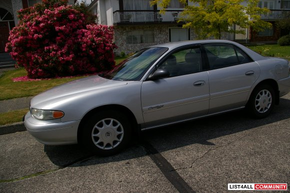 Sterling Silver Metallic Buick Century SOLD