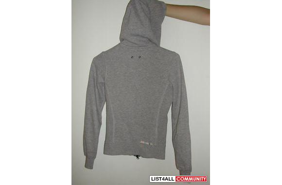 AUTHENTIC Grey Embroidered Triple 5 Soul Zip-Up Hoodie