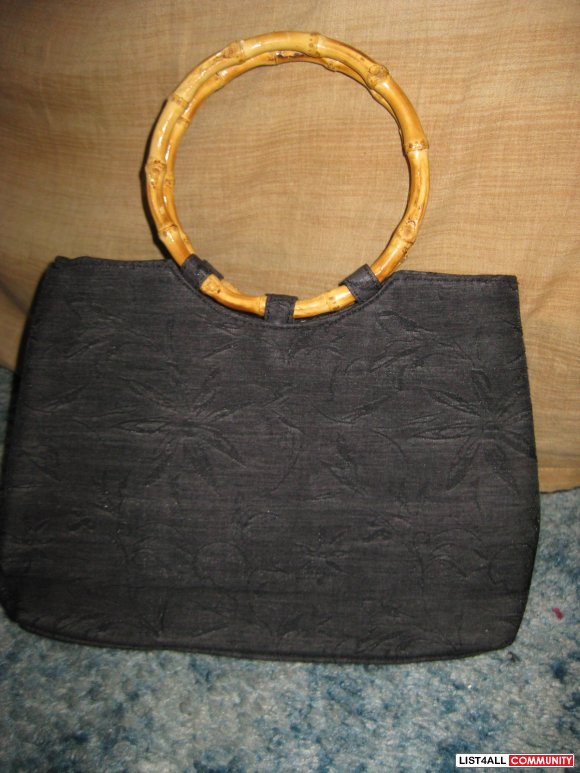 Bamboo Handle Tote