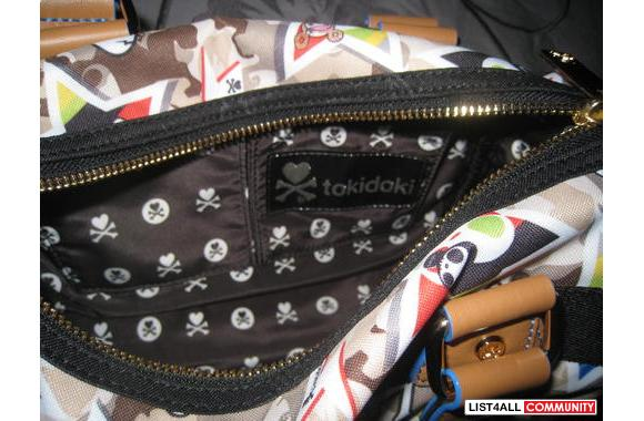 Authentic  TokiDoki Centro Mini Mimetica Bag