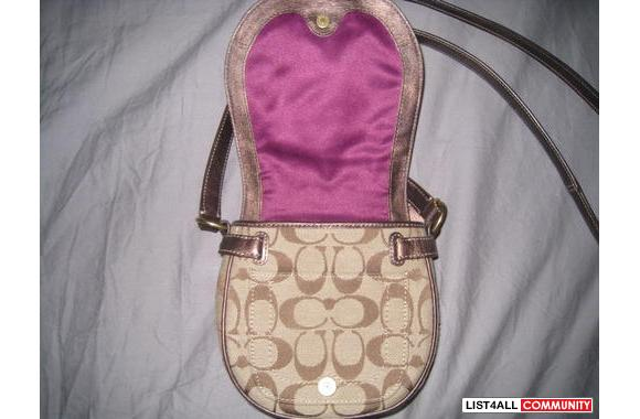 COACH Mini Sling Pack