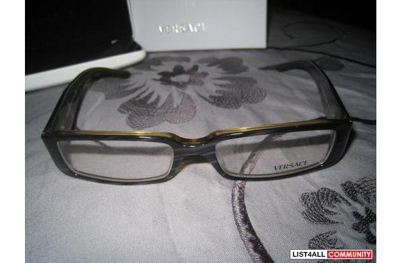 VERSACE Rhinestone reading frames