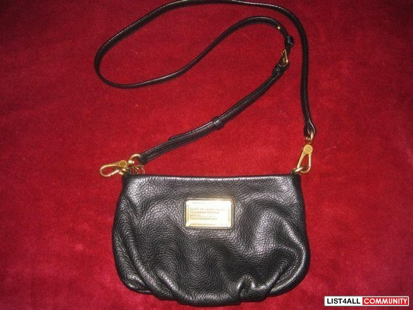 Marc by Marc Jacobs Black Classic Q Percy