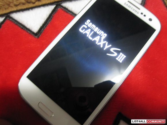 UNLOCKED White Samsung Galaxy S3