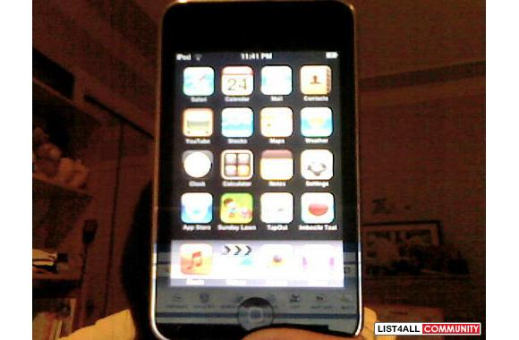 Ipod touch 16gb 2nd generation