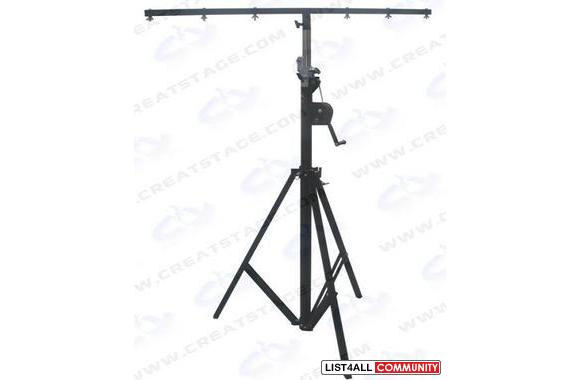 lighting tripod is completely made of steel