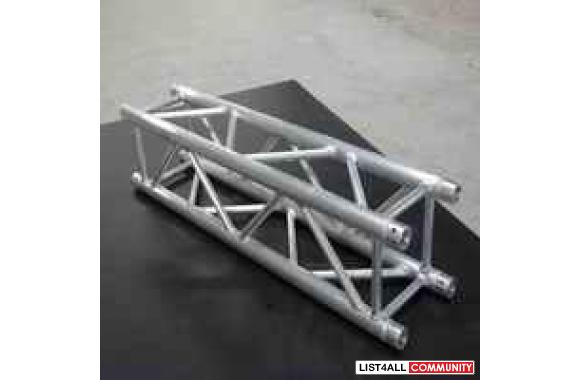 truss system is made of aluminum alloy