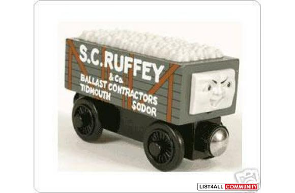 S.C. Ruffey is a character from the Thomas & Friends stories, and