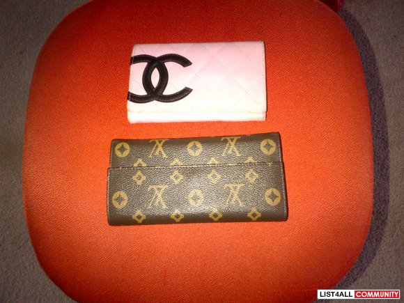 gucci and chanel wallet
