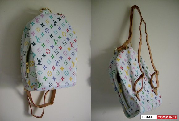 f7d0055fd49b Louis Vuitton Multicolor Backpack       designrstuf4sale    List4All