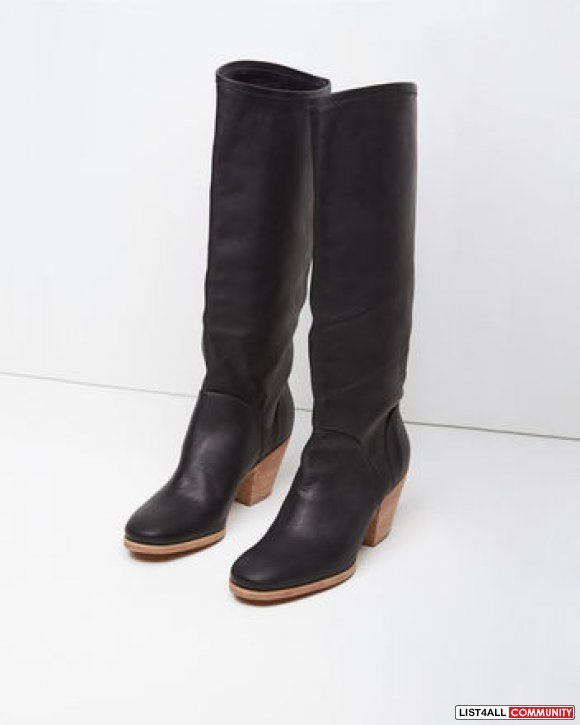 Aritzia Rachel Comey Black High Boots - Size 7 - Originally $550