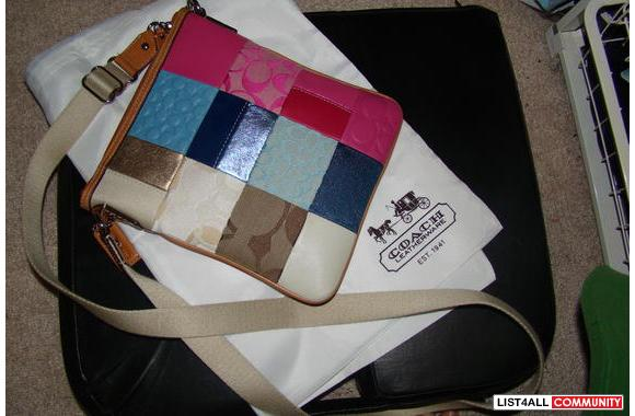 Over Shoulder BagBrand New Never Used Cute Coach b