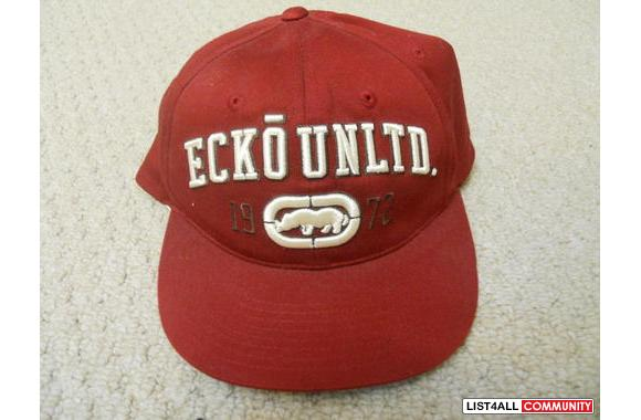 Ecko Unltd Red Hat> Size L/XL> ONLY a couple of ti