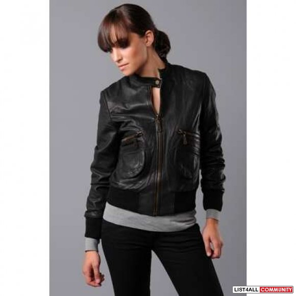 Aritzia Doma Leather Jacket :: emptymycloset :: List4All