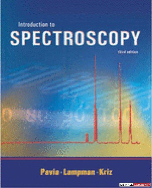 pavia spectroscopy ebook free