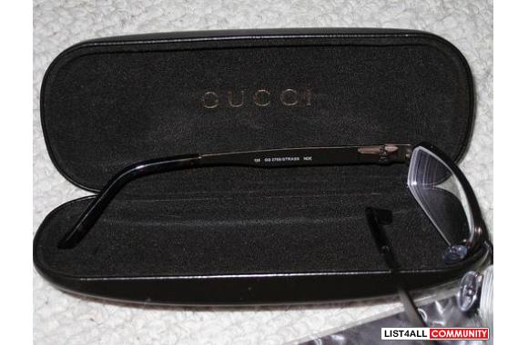 ***Brand New Authentic Gucci Frame With Rhinestone***
