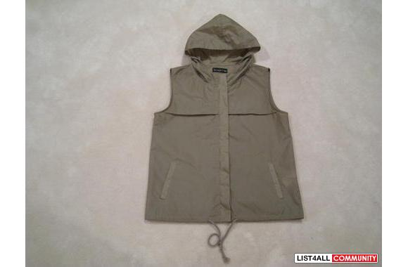 ***Vasagia Club Olive Waterproof Vest, Sz: M***