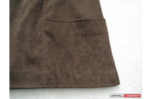 ***Le Chateau Brown Velvet Jacket, Sz: M***