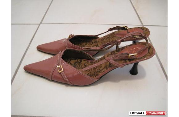 ***DJ Lotus Slingback Pumps, Sz: 39***