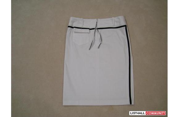 ***New In Too Sexy White Pencil Skirt, Sz: 36***