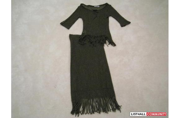***New Bel Air Knitted Oliver Dress Set, Sz: T2***