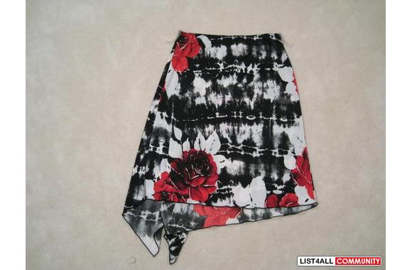 ***Floral Sexy Skirt, Sz: S***