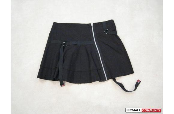 ***Bouche A Bouche Black Cute Mini-Skirt, Sz: 38***