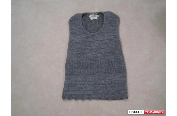 ***Le Chateau Grey Knitted Top, Sz: S***