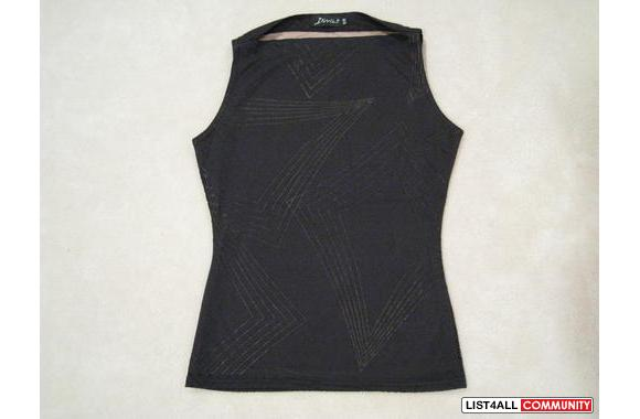 ***Aritzia Diva Two-layers Black Blouse, Sz: S/M***