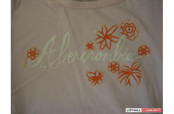 Abercrombie Graphic T-Shirt (S)