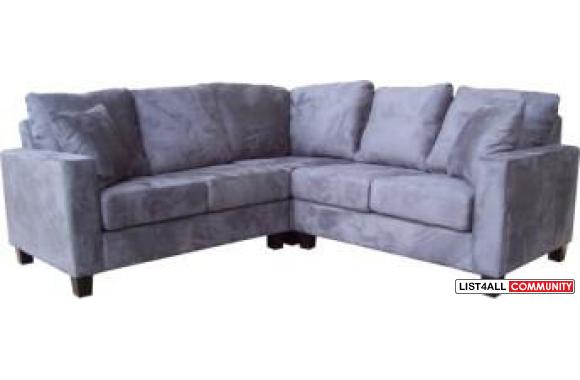 "ON SALE – Apartment Size Square Sectional - 87"" x 87"