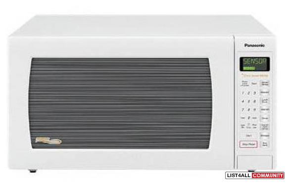 90% New Panasonic Inventer Big Microwave White