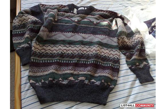 100% brand new man sweater with tag