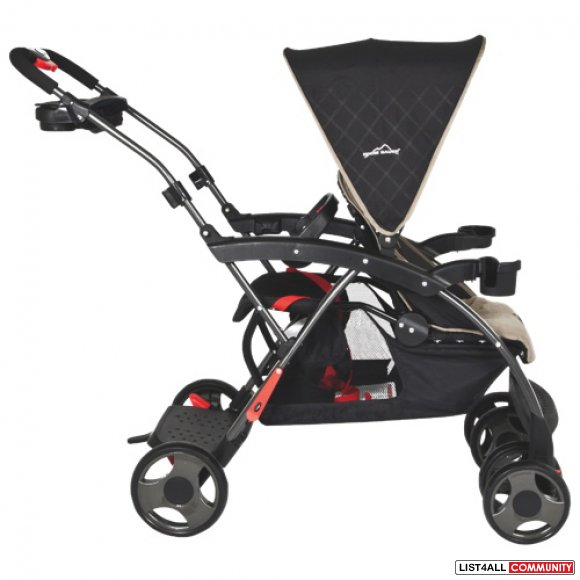 New in Box Eddie Bauer Dual Double Up Child Baby Stroller
