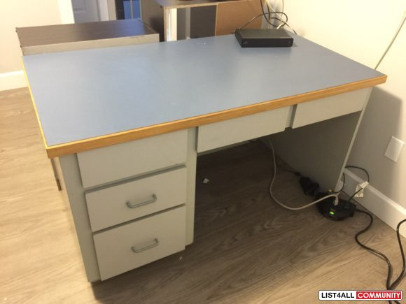 Nice Wood Computer Desk with drawers