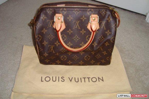 Authentic Louis Vuitton Speedy 25    goodbuygirls    List4All 268316d893e3