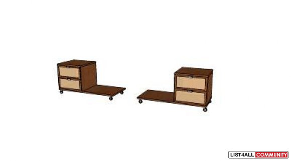 Ikea hopen nightstand dimensions crafts - Ikea hopen bed frame instructions ...