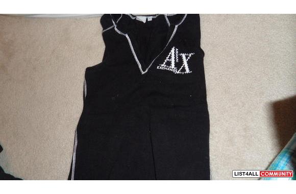 armani exchange vestsize'L