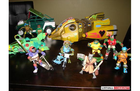 Great valued items for Ninja Turtles fans!