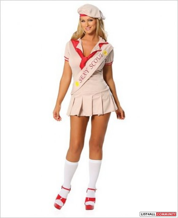Sexy Girl Scout Adult Costume Hot4clothes List4all