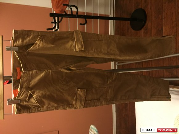 NEVER WORN BNWT JOE FRESH CARGO PANTS - SZ 2 - $15