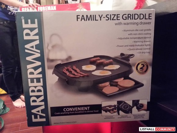 Griddle and Grill - BNIB $25