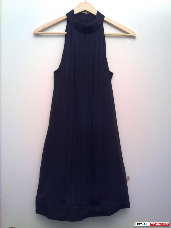 Vero Moda Party Black dress (comes w/ removeable collar bowtie)